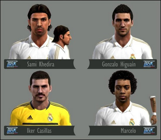 facepack real madrid pes2012