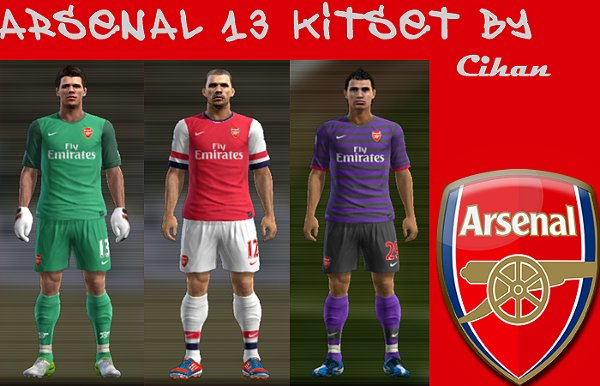 kit arsenal pes2012