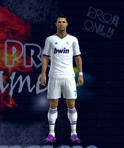 camiseta real madrid temporada 2013 para pes2012