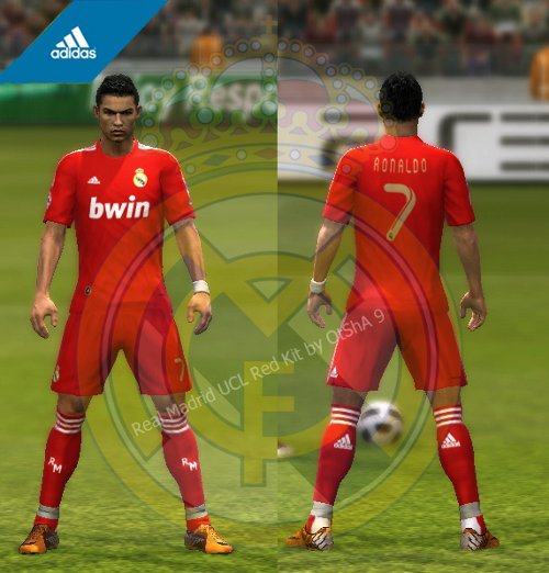 Equipaciones 2012 real madrid pes2012