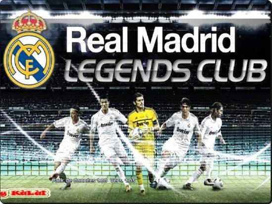 menu real madrid para pes2012