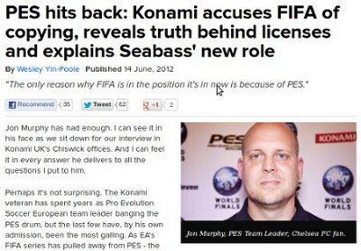 Jon Murphy nos cuenta la verdad sobre las licencias, Seabass y acusa a FIFA