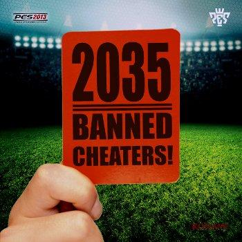 PES 2013: Ya son 2035 los baneados en el Modo Online