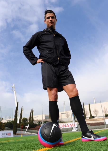 PES 2013: Ganadores de concurso entrenan con Cristiano Ronaldo