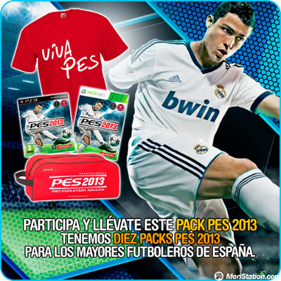 Meristation sortea 10 packs de PES2013
