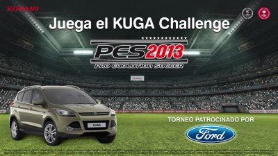 PES 2013: Konami y Ford unen sus fuerzas en el FORD KUGA CHALLENGE