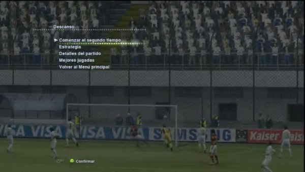 PES2013: Imagenes de menus en la version Demo