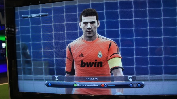 PES2013: Imagenes de jugadores del Real Madrid
