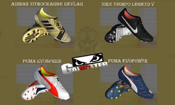 Nuevas botas Nike Adidas Puma PES 2013 - by SGangster ddd08cb170747