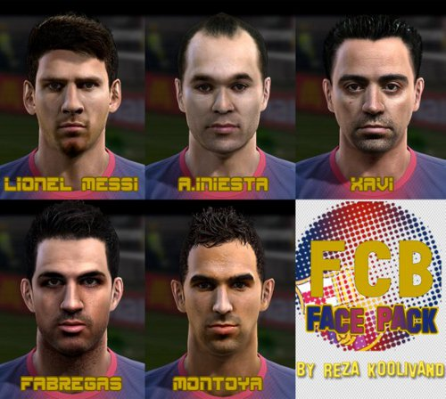 Fc Barcelona Facepack V2 0 By Reza Koolivand
