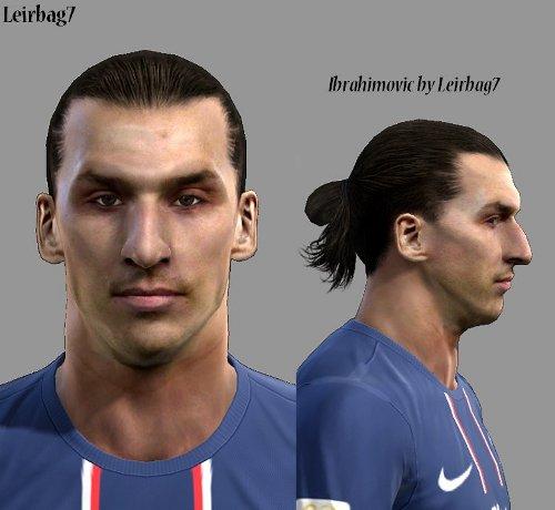Fc Barcelona Facepack V2 0 By Reza Koolivand: Ibrahimovic PES 2013