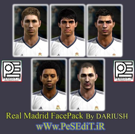 facepack real madrid pes2013