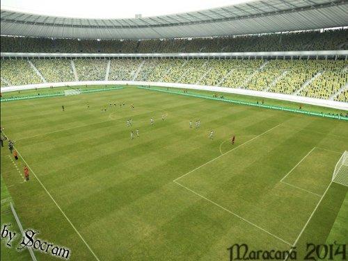 estadio maracana para pes 2013