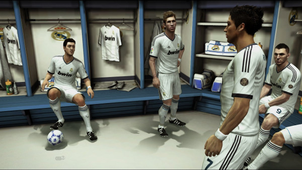 vestuario real madrid y manchester united pes 2013