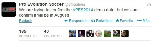 PES 2014: Confirmada Demo en agosto