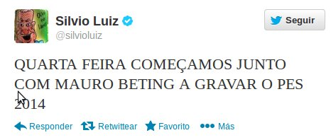 PES 2014: Los comentaristas brasileños empezaran a grabar esta semana