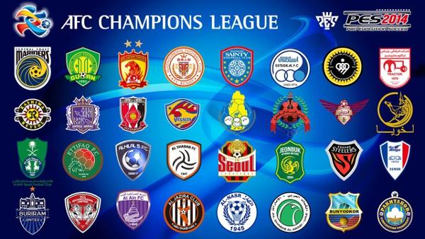 PES 2014: Licenciados todos los clubes de la AFC Champions League