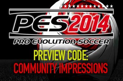 PES 2014: Impresiones de la prensa y comunidad sobre el preview code