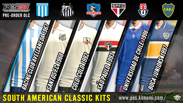 PES 2014: Los kits exclusivos de la preventa ya se encuentran disponibles