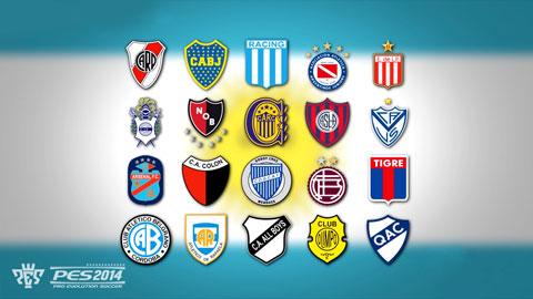 PES 2014: Konami confirma la llegada de la Liga Argentina