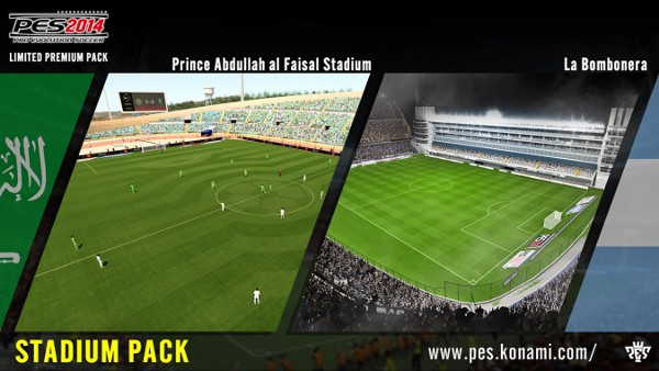 PES 2014: Segundo pack de estadios disponible el 22 de enero para PSN Europa