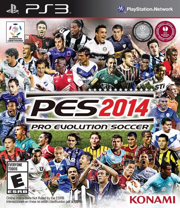 PES 2014: Konami revela la portada para el resto de América
