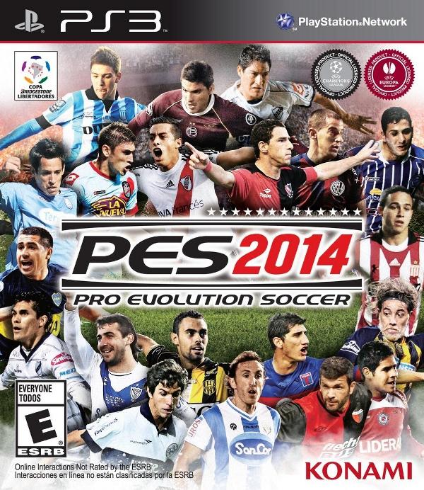 PES 2014: Konami revela la portada para Argentina