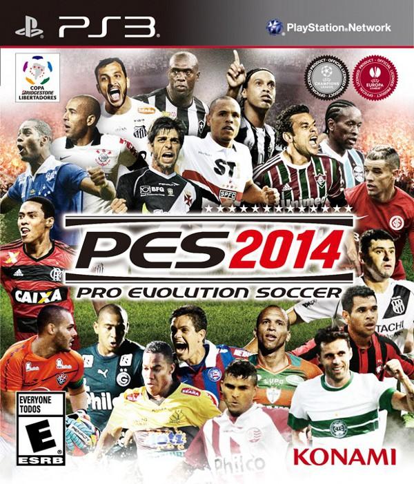 PES 2014: Konami revela la portada para Brasil