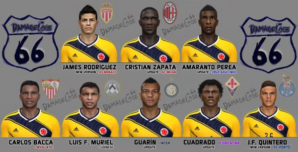 facepack colombia pes 2014