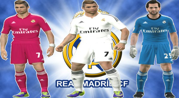 equipacion real madrid pes 2014
