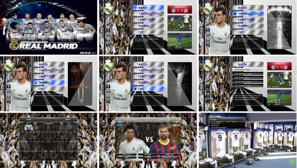 mod grafico real madrid pes 2014