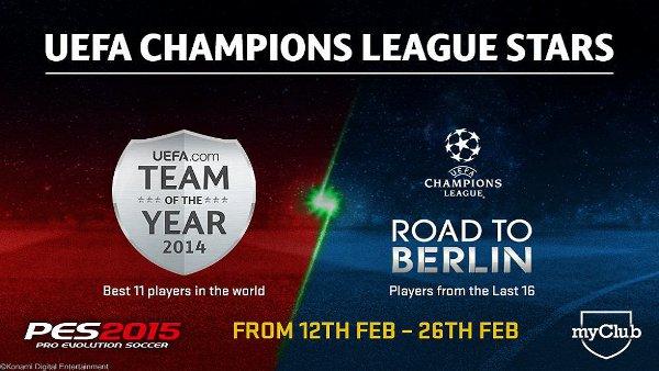 PES 2015: Estrellas de la UEFA Champions League