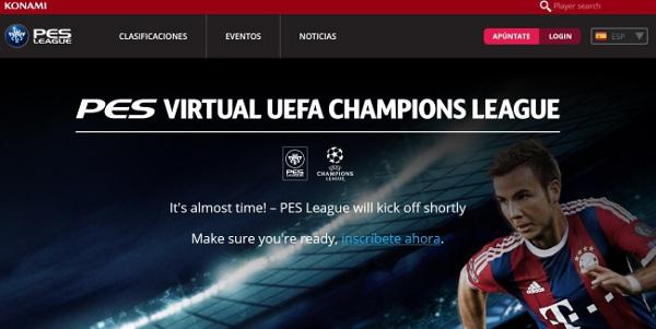 PES 2015: La Liga virtual de PES Champions League 14-15 empieza hoy 13 de noviembre