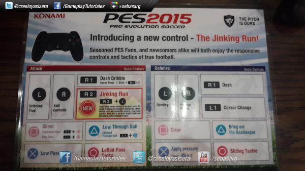 Controles de PES 2015 en el E3
