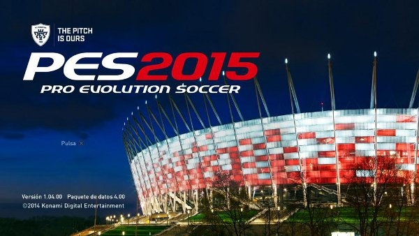 PES 2015: Patch 1.04 y DLC 4.00 ya disponibles