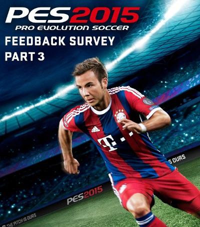 PES 2015: Encuesta oficial desde Konami