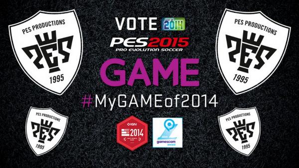 Vota PES 2015 como mejor juego de 2014
