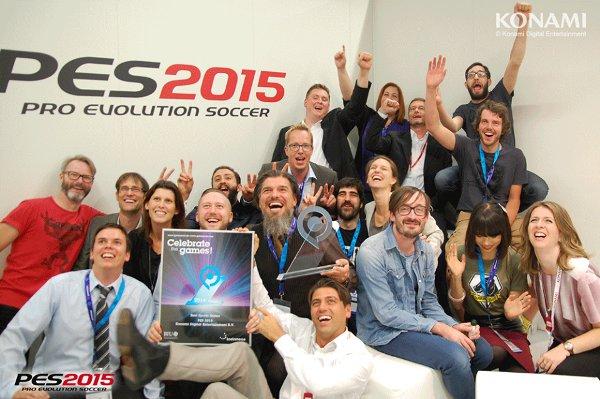 PES 2015: Premiado como mejor juego deportivo de la Gamescom