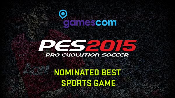 PES 2015: Nominado a mejor juego de deportes de la Gamescom 2014
