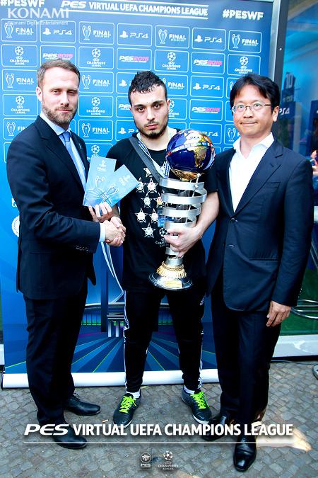 PES 2015: El Francés Rachid Tebane coronado campeón mundial