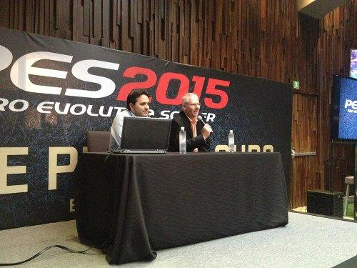 PES 2015: Presentación en México