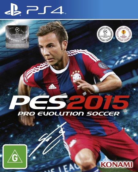Portada oficial de Pro Evolution Soccer 2015