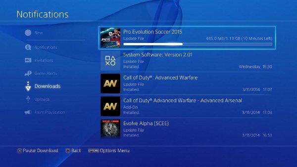 PES 2015: Primer DLC y parche ya disponibles