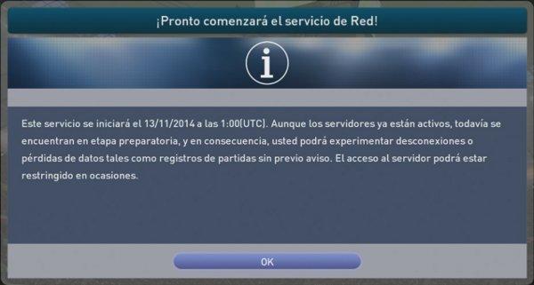 PES 2015: El 11 de noviembre comenzará el servicio online