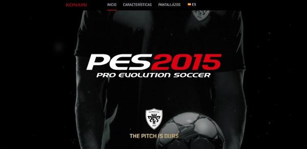 PES 2015: Inagurada la web oficial