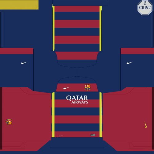 Download image Barcelona Dream League Soccer 2016 Kit PC, Android ...