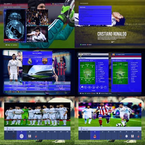 graficos real madrid pes 2015