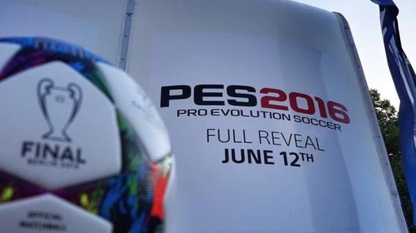 PES 2016: Será presentado el próximo 12 de junio