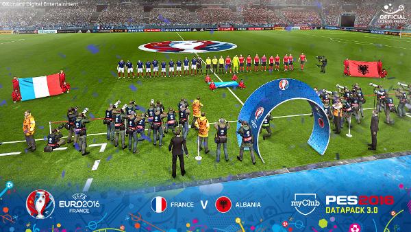 PES 2016: Ya disponible el DLC 3.0 con el contenido UEFA EURO 2016 incluido