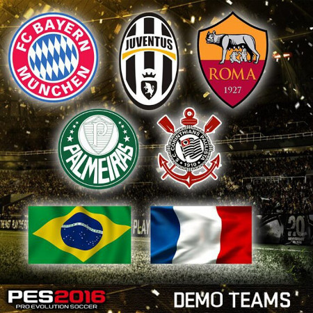 PES 2016: Demo disponible en PS4, PS3, Xbox One y Xbox 360